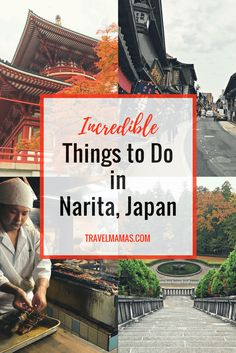 5 Incredible Things to Do in Narita, Japan. Narita is home to the biggest airport in Japan and is usually ignored by tourists. Narita is worthy of a visit of its own, though! Here's why.