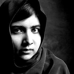 Malala Yousafzai: When the whole world is silent even one voice becomes powerful. #mywisdom #MalalaYousafzai