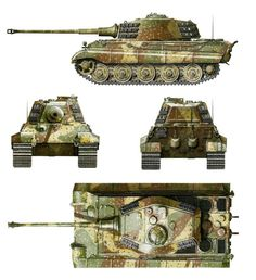 Tiger Ii, Army Vehicles, Armored Vehicles, Tank Armor, Military Armor, Tiger Tank, Model Tanks, Armored Fighting Vehicle, Battle Tank