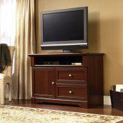 "Sauder Palladia Highboy TV Stand for TVs up to 46"", Cherry"