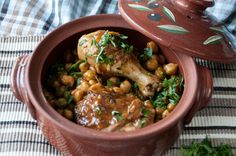 Chicken and Chickpea Stew by greek chef Akis. Delicious and healthy, perfect recipe for a midweek dinner.
