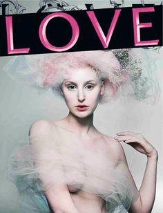 LOVE A/W '12 | Lady Edith (Laura Carmichael) | Mert & Marcus | Katie Grand