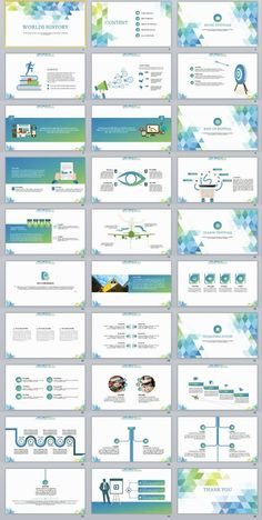 30 Fresh Report PowerPoint Template