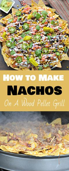Learn how to use your new Traeger wood pellet smoker to make the best nachos you. Learn how to use your new Traeger wood pellet smoker to make the best nachos you will ever try! Smoker Grill Recipes, Smoker Cooking, Grilling Recipes, Camping Recipes, Camping Meals, Camping Cooking, Best Grill Recipes, Backpacking Recipes, Camping Dishes