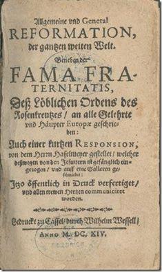 La Fama Fraternitatis (1614)