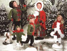 byers choice carolers   love my Byers Choice Carolers!   Christmas