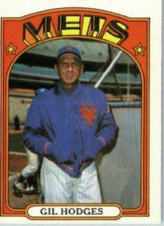 1972 Topps Baseball Card # 465 Gil Hodges New York Mets by 1972 Topps. $6.95…