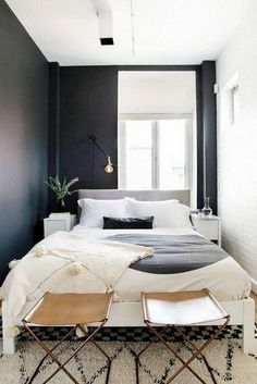 DOMINO:25 Small Bedrooms With Big Ideas
