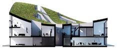 NL Architects Completes Construction on Green Roofed Apartment Building | Inhabitat - Green Design, Innovation, Architecture, Green Building