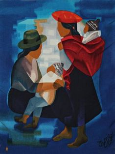Louis Toffoli Trieste, Arte Latina, Mexican Paintings, Peruvian Art, Georges Braque, Art Studies, Figure Painting, Lovers Art, Art Pictures