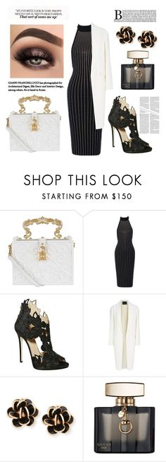 """""""Untitled #205"""" by coffeegirl233 ❤ liked on Polyvore featuring Dolce&Gabbana, La Perla, Alexander Wang, Chantecler and Gucci"""