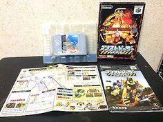 Blastdozer Nintendo 64 Japan NTSC-J boxed set N64