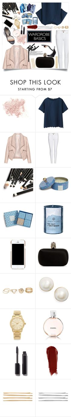 """""""Complex"""" by white-laces ❤ liked on Polyvore featuring Bare Escentuals, Uniqlo, Zizzi, Burberry, 3.1 Phillip Lim, Vera Bradley, Chesapeake Bay Candle, Moschino, Alexander McQueen and Kate Spade"""
