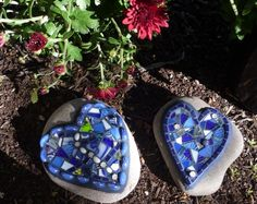 Commissioned  Love rocks!! by AMOSAIC, via Flickr