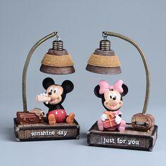 Pas cher Mickey Minnie Mouse Résine 17 cm Figurines Enfants Jouets Mickey Minnie…