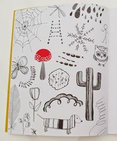 Doodles! #20waysdoodle http://www.rachaeltaylordesigns.co.uk/shop/paper/books/20-ways-to-draw-a-doodle-book#.U5hJCqWjJ7Y