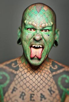New Piercing Gone Wrong Body Modifications Awesome Ideas Piercings, Body Piercing, Piercing Tattoo, Bad Tattoos, Body Art Tattoos, Nice Tattoos, Crazy Tattoos, Body Modifications, Reptile Man