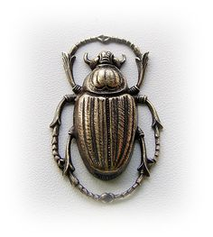 1 - Egyptian SCARAB BEETLE Antique Brass Ox Jewelry Findings (C) Scarab Tattoo, Natural Form Art, Ancient Egypt Art, Egyptian Scarab, Forearm Sleeve Tattoos, Sister Tattoos, Art Nouveau Jewelry, Crown Jewels, Body Mods