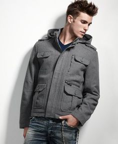 Need a good warm, casual jacket that's not a blazer...