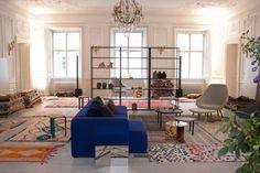 HAY Vintage rugs pop-up Copenhagen
