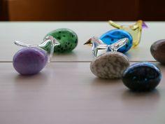 iittala / Birds by Oiva Toikka Flycatcher Glass Birds, Glass Art, Eggs, Decor, Drinkware, Decoration, Egg, Decorating, Egg As Food