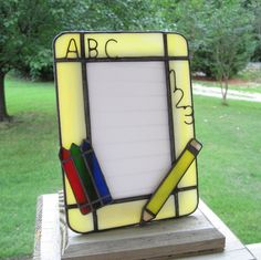 Your place to buy and sell all things handmade Stained Glass Frames, Stained Glass Night Lights, Stained Glass Patterns, Leaded Glass, Fused Glass, Clear Glass, Mirrored Picture Frames, Glass Picture Frames, Glass Lamps