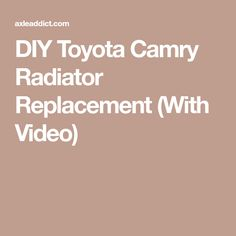 90 01 toyota camry rear end noise sway stabilizer bar bushing diy toyota camry radiator replacement with video fandeluxe Choice Image