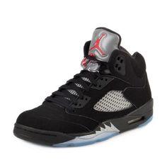 8b61141a4fbf Details about Nike Air Jordan 5 Retro OG Black Metallic Silver 845035-003  Men s Size 12.5