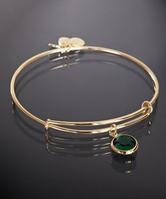 Emerald Alex and Ani bracelet