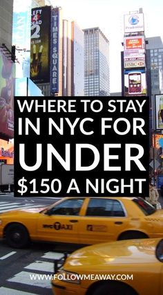 10 Reasons Why Row NYC Is The Best Hotel Near Times Square   Best Hotels In Times Square   What To Do In Times Square   What To Do In New York City On A Budget   Follow Me Away Travel Blog   Where To Stay In New York City