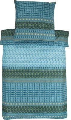 Tolle Bettwäsche »Leonardo« der Marke Bassetti aus 100 % Baumwolle. Schöne Farben, Blumen, Paisleys und vieles mehr finden Sie auf diesem Bettwäsche-Design. Wer es klassisch mag, ist mit dieser Garnitur von Bassetti sehr gut beraten. Die edle Bettwäsche in den gedeckten Farben ist mit pflegeleichten Eigenschaften und einem Reißverschluss ausgestattet. Die feine Mako-Satin Qualität fühlt sich wu...