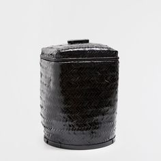 BAMBOO LAUNDRY BASKET WITH A LID - This week - New Arrivals | Zara Home United States of America