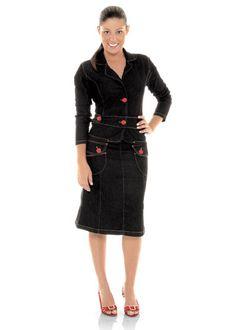 vestido jeans - Pesquisa Google