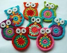 crochet owl cushion - Google Search