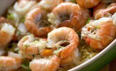 Shrimps pasta