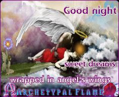 Sweet dreams wrapped in angel's wings  Love and Light  Buenas noches, dulces sueños, envuelto en las alas del ángel  Amor y Luz  Boa noite doces sonhos envolto em asas de anjo Amor e luz Buona notte, dolci sogni avvolto in ali d'angelo  Amore e Luce  Bonne nuit doux rêves, enveloppé dans tes ailes d'Ange Amour et Lumière おやすみ 良い夢を 天使の翼で包んで貰っている  ・ラヴ ライト ˡ #Goodnight #buenasnoches #goedenacht #GuteNacht #buonanotte #lakunoć #boanoite #bonnenuit  #おやすみ #archetypalflame #beauty #health…