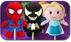 Frozen Elsa & Spiderman Finger Family   Kids Toys Daddy Finger   My Kids...