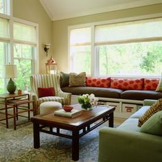 built-in window seating