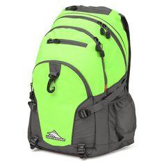 High Sierra Lime/Slate Loop Backpack
