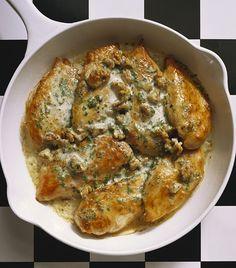 4 isteni, sajtos csirkemell recept