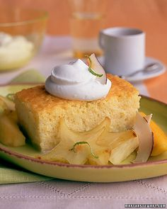 Pastel de Tres Leches - Martha Stewart Recipes.  This is HANDS DOWN my favorite cake and the colors are so pretty for spring.  I'm making this for Easter.  It will make you feel like you died and rose again (tee hee).