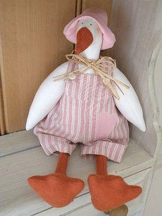 Tilda oca rosa   Pink Tilda goose design Tilda handmade by m…   countrykitty   Flickr