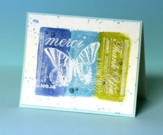 Very easy to do – just some Distress Inks and water…