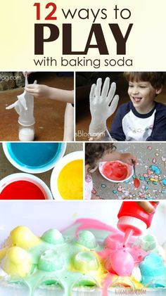 12 Ways You Can Use Baking Soda For Play