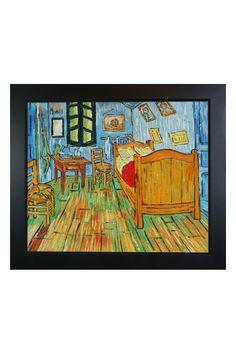 Vincent Van Gogh Bedroom At Arles Framed Hand Painted Oil on Canvas
