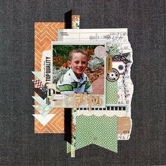 Jenny Evans, Boys Rule Scrapbook Kits