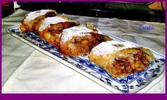 Staromaďarská jablková štrúdľa (fotorecept) - obrázok 18 Strudel, Bourbon, Ale, French Toast, Pork, Meat, Chicken, Breakfast, Bourbon Whiskey