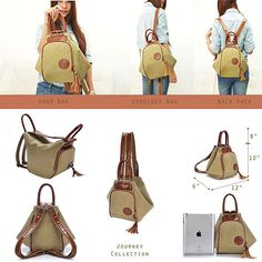 Purchase Jet Setter Journey Convertible Backpack / Purse from Fashion Vista on OpenSky. Share and compare all Other Handbags & Purses in Accessories. Backpack Purse, Crossbody Bag, Backpack Straps, Travel Backpack, Diy Sac, Convertible Backpack, Denim Bag, Handmade Bags, Fashion Bags
