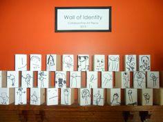 Identity Wall @ New Horizons Preschool