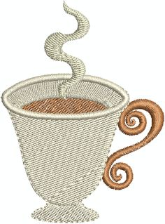 1000+ Images About Free Machine Embroidery Designs On Pinterest | Coffee Cup Design Machine ...